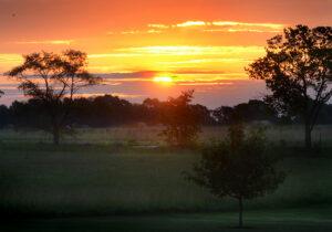small sunset